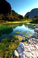colour lake (uzaktanbakanadam) Tags: lake landscape beautiful antalya animal nature mountain duck stone moss ngc