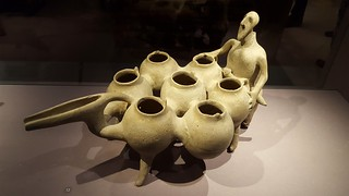 pottery jug, 850-550 BCE, Iran