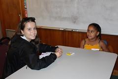 BOSH Volunteer Paulina and buddy