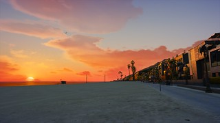 Beach Sunset | GTA V