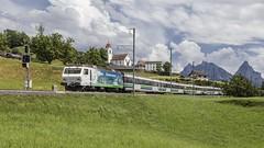 VEA 2576 @ Steinerberg (Jeroen's fotosite) Tags: bahn eisenbahn kantonschwyz railways re456 sob schweiz steinerberg sudostbahn svizzera swiss switzerland südostbahn train trein vae voralpenexpress voralpen zug zwitserland schwyz ch
