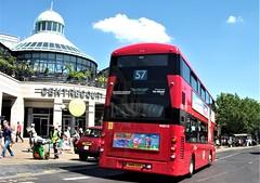 London General WSD10  on route 57 Wimbledon 15/07/18. (Ledlon89) Tags: london bus tram buses trams tfl transport londonbus londonbuses londontrams wimbledon croydon