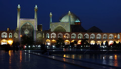DSC09504 (Dirk Rosseel) Tags: masjede shah imam square esfahan isfahan iran persia persian iranian bluehour mosque