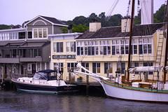 Mystic Curbside (joegeraci364) Tags: boat ship vessel yacht sail nautical marine maritime ocean sea coast shore mystic connecticut newengland travel tourism vacation destination steamboatinn dock