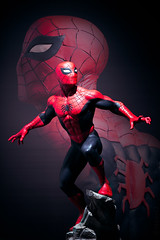 Spider-Man | Statue | Sideshow Collectibles (leadin2) Tags: canon 2018 sideshow collectibles bronze statue custom painted marvel comics cold cast classics spiderman spider man peter parker peterparker
