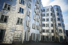 Gehry Buildings, Düsseldorf