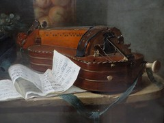 """""""Nature morte à la vielle"""", vers 1760, Henri Horace Raland de la Porte (1724-1793), Musée des Beaux-Arts, Bordeaux, Nouvelle-Aquitaine, France. (byb64 (en voyage jusqu'au 26)) Tags: muséedesbeauxartsdebordeaux bordeaux burdeos gironde gironda 33 aquitaine aquitania akitania aquitanien nouvelleaquitaine france francia frankreich europe europa eu ue gascogne gascony gascona gasconha guyenne guienne guyena musée museum museo beauxarts tableau painting dipinto cuadro xviiie 18th rococo classique classicisme henrihoracedelaporte delaporte naturemorteàlavielle naturemorte vielle fruits stilllife stillleben bodegon naturamorta hurdygurdy ghironda vielleàroue frutas"""