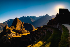 The magical sunrise in Machu Picchu. (Valter Patrial) Tags: cuzco peru pe sunrise machupicchu machu picchu mountains mountain sun colours light contrast inexplore