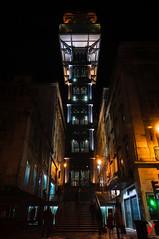 Elevador de Santa Justa. (Carlos Velayos) Tags: portugal lisboa lisbon elevador elevator santajusta arquitectura architecture nocturna nightly ciudad urbana city urban arquitecturaurbana urbanarchitecture