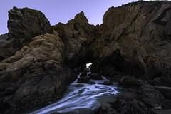 The Other Pfeiffer Beach Keyhole (TierraCosmos) Tags: pfeifferbeach bigsur californiacoast seastack keyhole rockarch ocean beach seascape rock keyholearch rocktunnel seashore