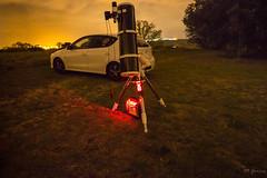 Equipo en Área50 (Miguel Garcia.) Tags: newton eq6 telescopio venturada cruz del norte astronomia astrofotografia coche noche canon 100d skywatcher f5 eq6r telescope sky