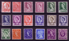 BRITISH ISLES (old school paul) Tags: postage stamps british britain england