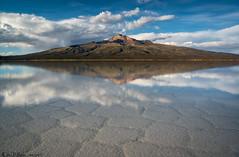 Tunupa (Bill Bowman) Tags: tunupa tuhua volcano shieldvolcano salardeuyuni saltflat polygons reflection bolivia altiplano earthday