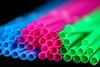 Neon Straws (Natalia Morón) Tags: straws macromondays plastic macro neon