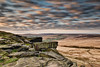 Buckstones at Sunrise (tbabetzki) Tags: longexposure buckstones spring sunrise marsden saddleworth dramatic clouds goldenhour moorland cliff rock yorkshire landscape nature