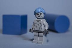 Blue (N.the.Kudzu) Tags: tabletop lego miniature concept blue canondslr lensbabyvelvet56 lightroom primelens manualfocus
