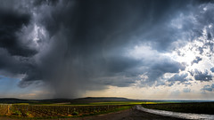 After the storm (ZeGaby) Tags: champagne landscapes naturephotography orages panoramic paysages pentax2470mm pentaxk1 rain storm sun vineyards hdr bouzy grandest france fr