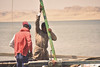 FISHERMEN (ItalianCandy) Tags: sobek fayoum egypt fishermen fish sail boat men seaside bohemian warmth