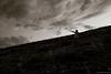 There! (Hayk Senekerimyan) Tags: there here mountains slope evening night twilight sunset nature monochrome armenia kotayk man show direction fujifilm fujinon hills summer landscape highland
