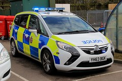 West Yorkshire Police Vauxhall Zafira Sri Dog Section Car (PFB-999) Tags: west yorkshire police wyp vauxhall zafira sri mpv dog section car vehicle unit van k9 lightbar grilles leds yh63bgk