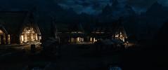 SKYRIM #14 (cvizux) Tags: elder scrolls v skyrim city town whiterun lights night dark buildings houses clouds sky dome stone