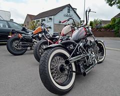 Chopperz.. (Harleynik Rides Again.) Tags: chopperz cc 33 northsomerset motorcycles harleydavidson chopperclub bike harleynikridesagain