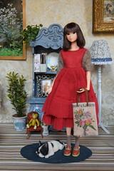 Miss Ava (Girl Least Likely To) Tags: momoko sekiguchi closeclippedsheep dolls toys asianfashiondolls japanesetoys miniatures dollhouse dollscene diorama dollroom livingroom dresses