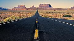 Highway 163 near Monument Valley (Trent9701) Tags: 2018 monumentvalley trentcooper utah vacation desert roadtrip travel