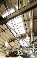 Waiting Room Ceiling in Long Beach (49er Badger) Tags: truss longbeach waitingroom