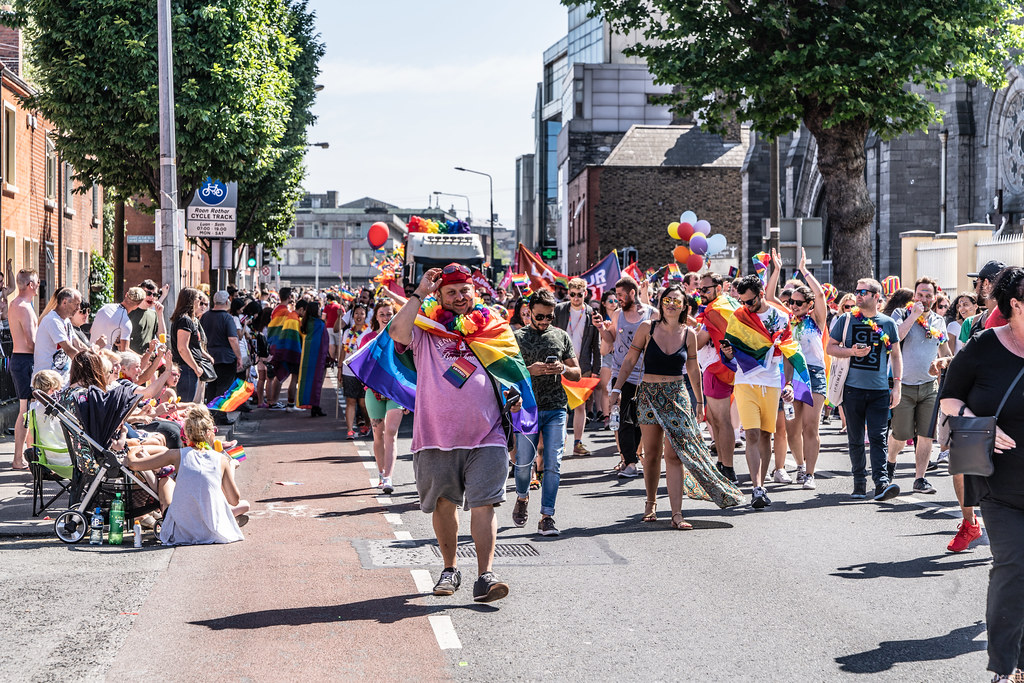 ABOUT SIXTY THOUSAND TOOK PART IN THE DUBLIN LGBTI+ PARADE TODAY[ SATURDAY 30 JUNE 2018] X-100205