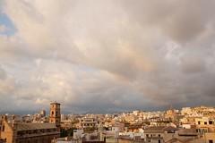 Palma de Mallorca timelapse sunset and rain (Michiel van Lun) Tags: palma de mallorca rain clouds sunset evening timelapse
