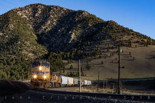 Early Morning Grain Train