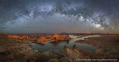 Celestial Expanse (David Swindler (ActionPhotoTours.com)) Tags: alstrompoint lakepowell milkyway pano stars utah night nightphotography nightscape panoramic