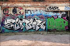 Chor / Ziner (Alex Ellison) Tags: birmingham england uk urban graffiti graff boobs chor ziner nfa