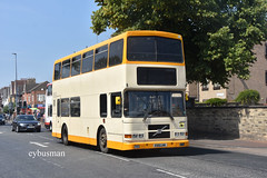 Brian Barnett Hull R319LHK. (EYBusman) Tags: brian barnett fairway rider hull independent bus coach east yorkshire anlaby road city alexander r type volvo olympian td travel bridlington dublin atha cliath rv386 d20386 r319lhk eybusman