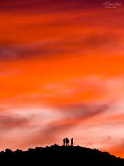 A moment together (A Camera Story) Tags: arizona monumentvalley navajonation sunset ca usa sonydslta99 sony70300mmf4556g