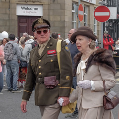 FX306386-1 Brighouse, uk, 1940's Weekend 2018 (Lawrence Holmes.) Tags: fuji fx30 1940 reenactment war army navy raf usa 1940s brighouse calderdale westyorkshire uk lawrenceholmes