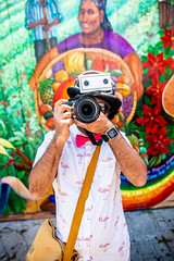 Bhautik Joshi, 2018 (Thomas Hawk) Tags: america bhautikjoshi california missiondistrict photowalk photowalk04212018 sanfrancisco usa unitedstates unitedstatesofamerica graffiti meta streetart us fav10 fav25 fav50 fav100