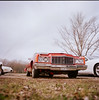 '71 Chevy Caprice (Boldizsár Nádi) Tags: originalphotographers photographersontumblr analogphotography 6x6 mediumformat pentacon pentaconsix tl carl zeiss jena flektogon 50mm f4 kodak portra nc 160 120 mm roll film vehicle oldtimer car chevy chevrolet caprire 1971 wreck celluloid analog analogue american america steel mobile auto automobil
