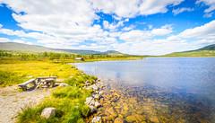Trytjørna lake (-ebphoto-) Tags: nikon d3200 water landscape mountains norway norge stor elvdal innsjø fjell tryvang fjellvann lake