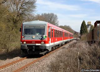 DB Regio 628 474 & 628 466, Bouzonville 30.03.2018