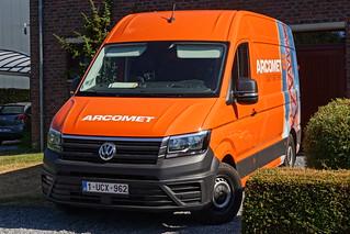 Volkswagen Crafter Euro6 2018 - Arcomet Service BVBA Paal, België