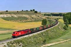 Comsa Rail Transport Aranda de Duero - Sagunto. (Félix_252) Tags: takargo comsa 335 directo tramesa aranda burgos