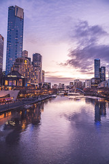 Moments after sunset (SemiXposed) Tags: yarra melbourne sony australia