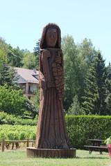 Saint Vincent de Savigny les Beaune (CHRISTOPHE CHAMPAGNE) Tags: 2018 france savigny beaune saint st vincent sculture bois daniel thevenot sequoia cote or bourgogne
