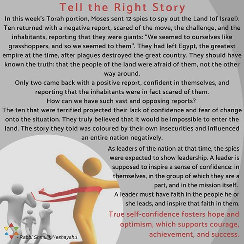 Tell the Right Story