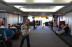 GLA gates 30-32 (afagen) Tags: scotland uk unitedkingdom greatbritain glasgowairport paisley gla glasgow airport concourse