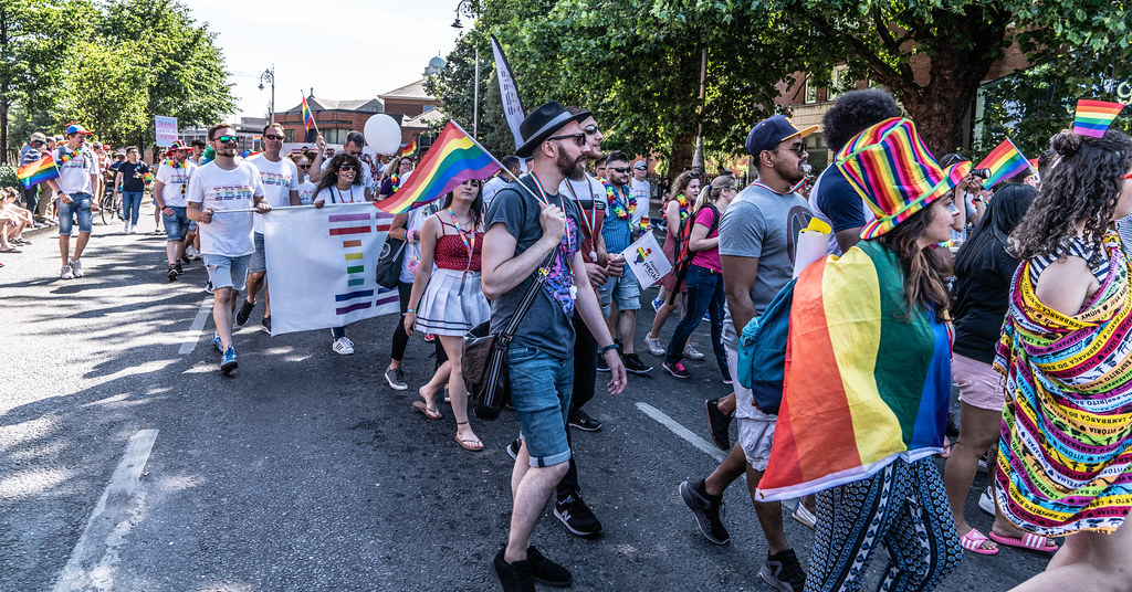 ABOUT SIXTY THOUSAND TOOK PART IN THE DUBLIN LGBTI+ PARADE TODAY[ SATURDAY 30 JUNE 2018] X-100171