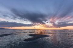 I must keep reminding myself of this. (Caroleyene) Tags: lake greatsaltlake thegreatsaltlake sunset clouds summer utah