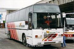 Bus Eireann PD18 (90D11018). (Fred Dean Jnr) Tags: buseireannroute51 buseireann daf mb230 plaxton paramount pd18 90d11018 parnellplacebusstation cork may1998